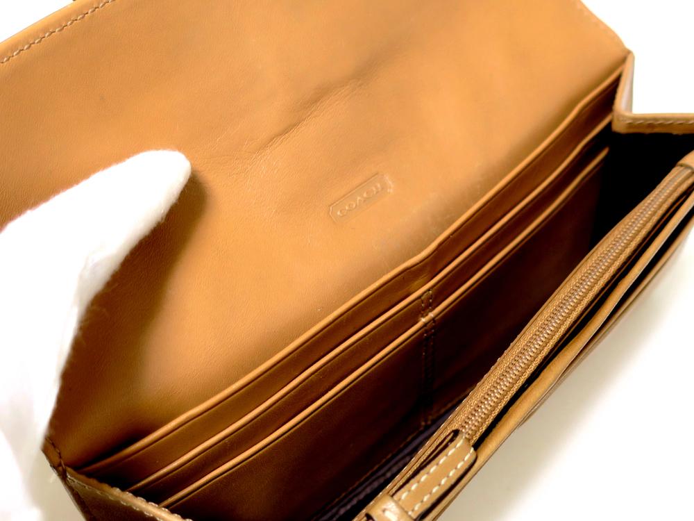 016b017e1d2f コーチ ソーホー レザーバックル 長財布 - 【中古品ブランド/通販/販売 ...
