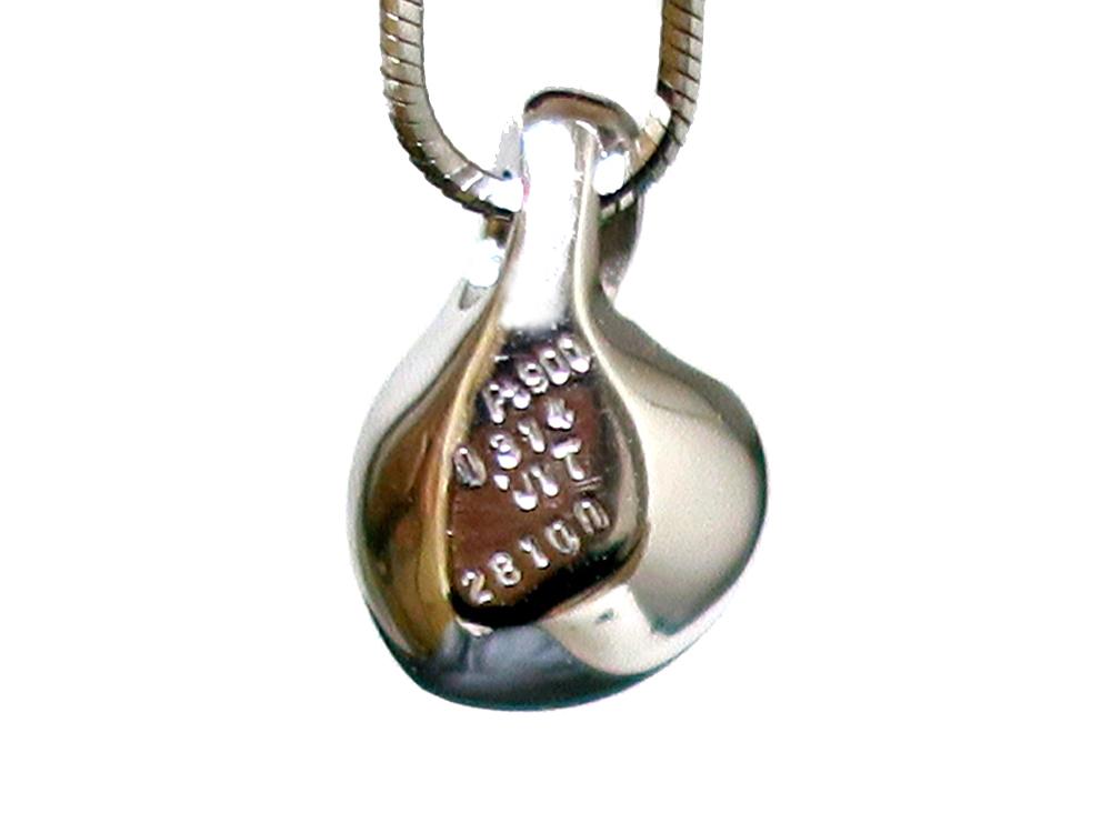 ジュエリー プラチナ ダイヤモンド ネックレス ダイヤ0.314ct