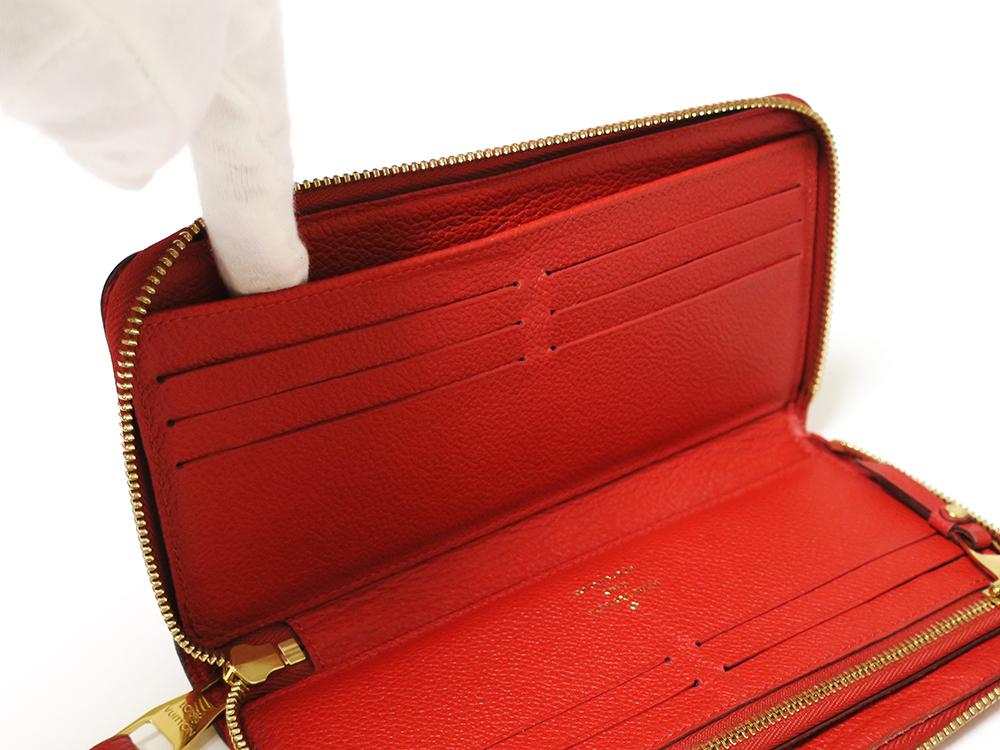 ルイヴィトン モノグラム・アンプラント ポルトフォイユ・スクレット・ロン 長財布 M60297