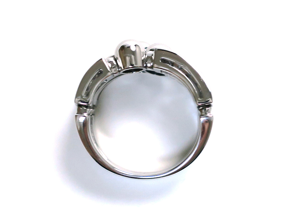ブルガリ アレグラ ダイヤモンドリング ホワイトゴールド