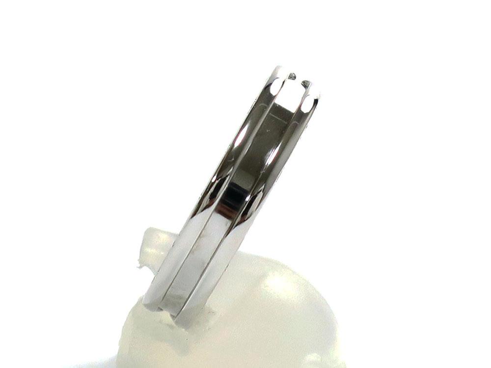 ブルガリ ビーゼロワンリングXS ホワイトゴールド AN852423