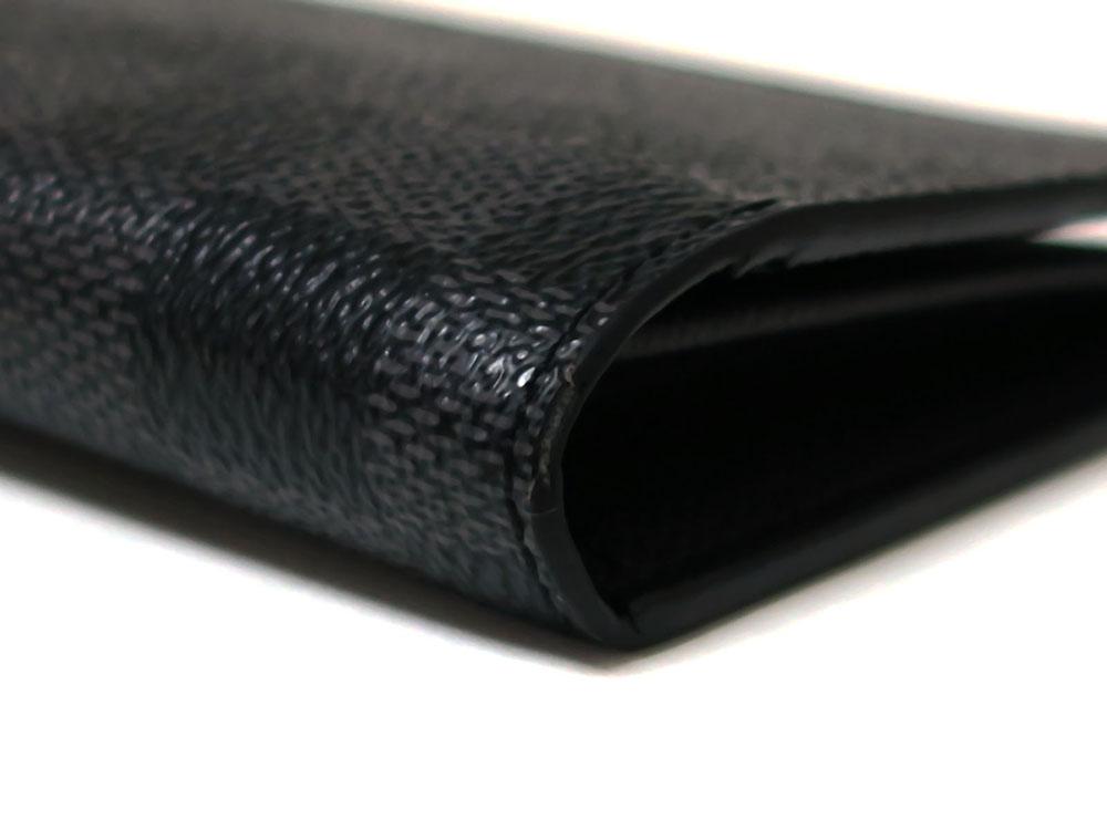 ルイヴィトン ダミエ グラフィット ポルトフォイユ・ブラザ 長財布 N62665