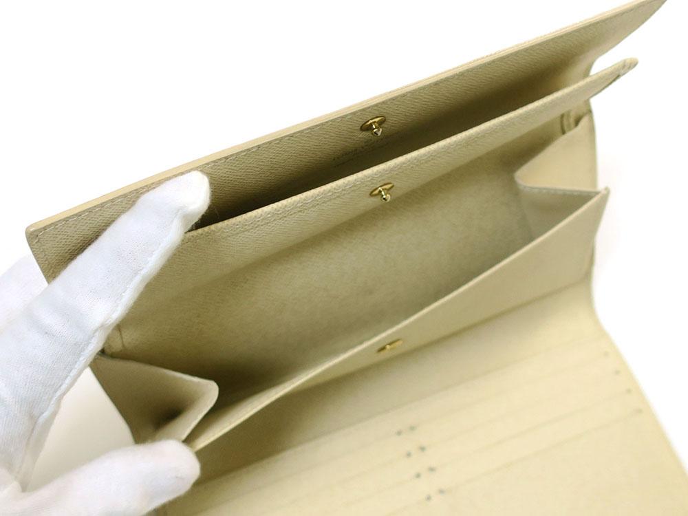 ルイヴィトン ダミエ アズール ポルトフォイユ・インターナショナル 長財布 N61732