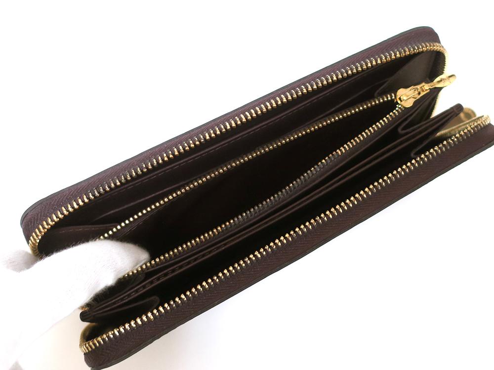 ルイヴィトン モノグラム・ヴェルニ ジッピー・ウォレット 長財布 M93522