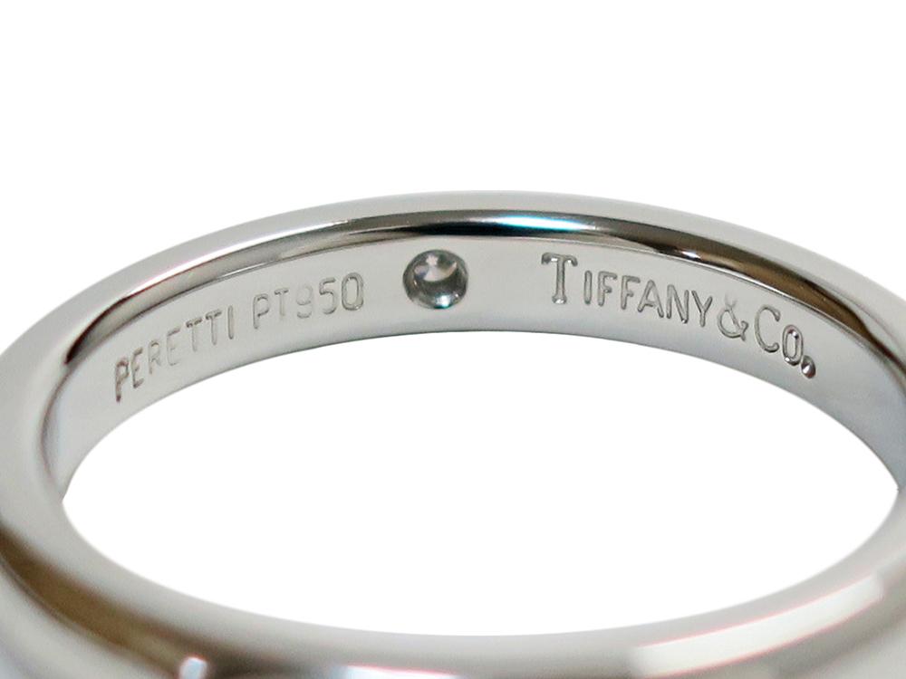 ティファニー エルサ・ペレッティ スタッキング バンドリング プラチナ 1Pダイヤモンド
