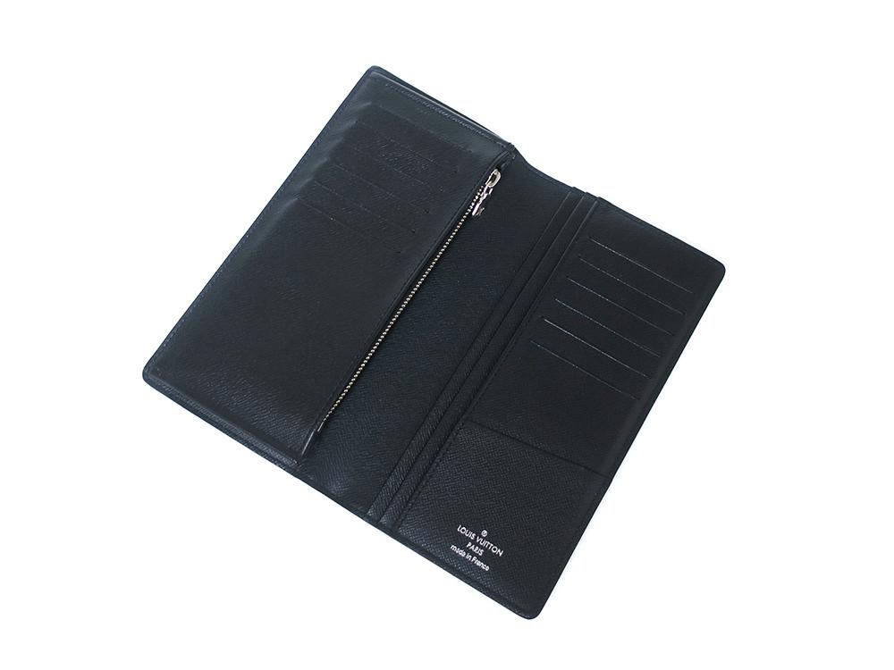 ルイヴィトン ダミエ グラフィット ポルトフォイユ・ブラザ 長財布 N62665 ABランク 上面開