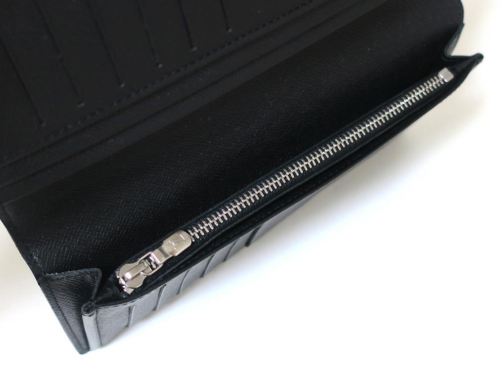 ルイヴィトン ダミエ グラフィット ポルトフォイユ・ブラザ 長財布 N62665 ABランク 内面