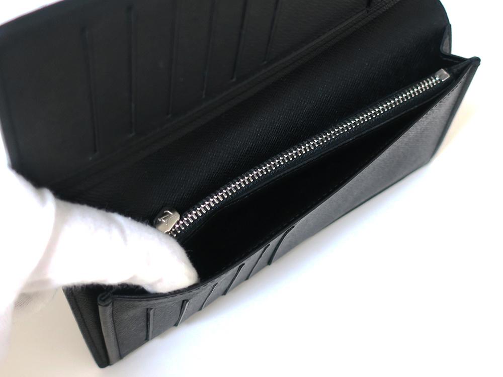 ルイヴィトン ダミエ グラフィット ポルトフォイユ・ブラザ 長財布 N62665 ABランク オープンポケット01