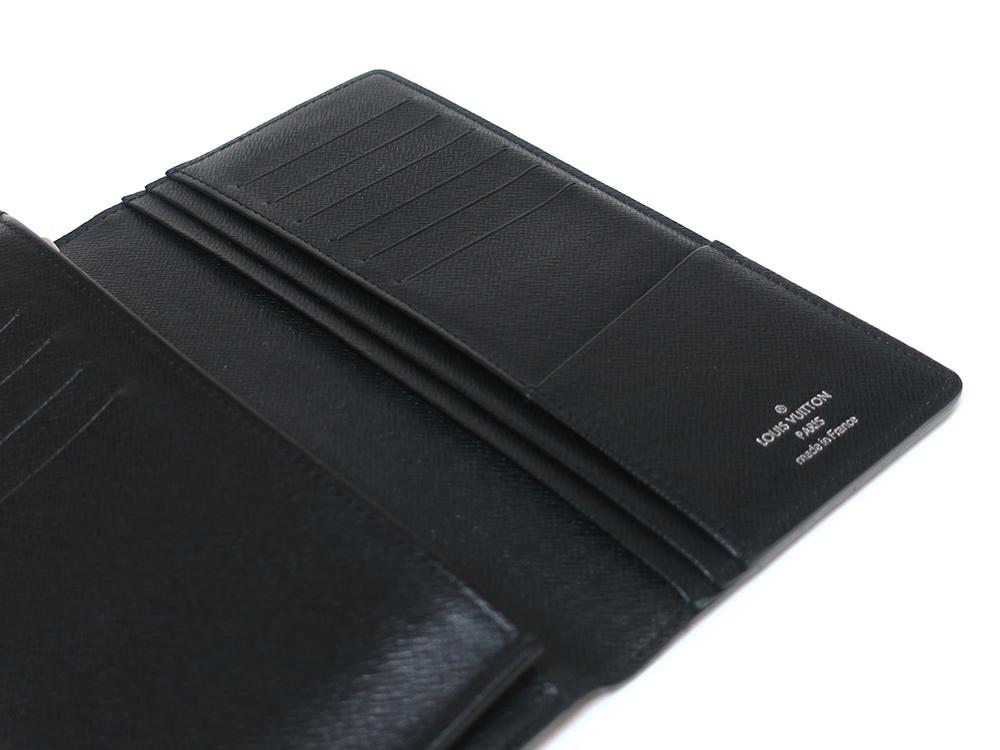 ルイヴィトン ダミエ グラフィット ポルトフォイユ・ブラザ 長財布 N62665 ABランク 右側