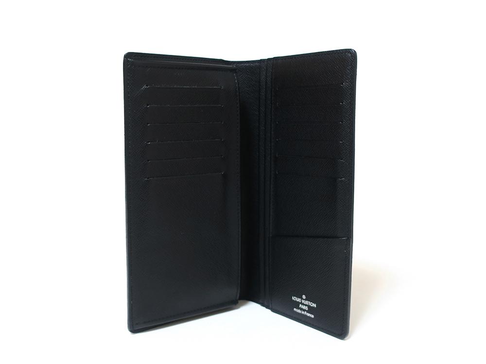 ルイヴィトン ダミエ グラフィット ポルトフォイユ・ブラザ 長財布 N62665 ABランク 立面