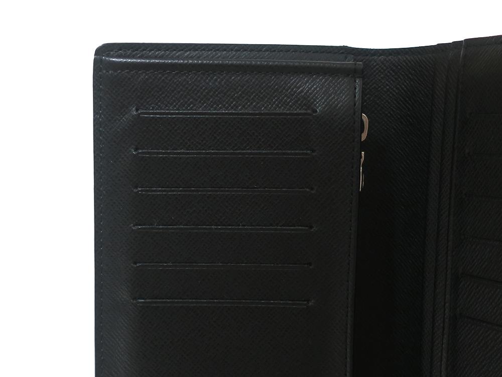 ルイヴィトン ダミエ グラフィット ポルトフォイユ・ブラザ 長財布 N62665 ABランク カード入れ01