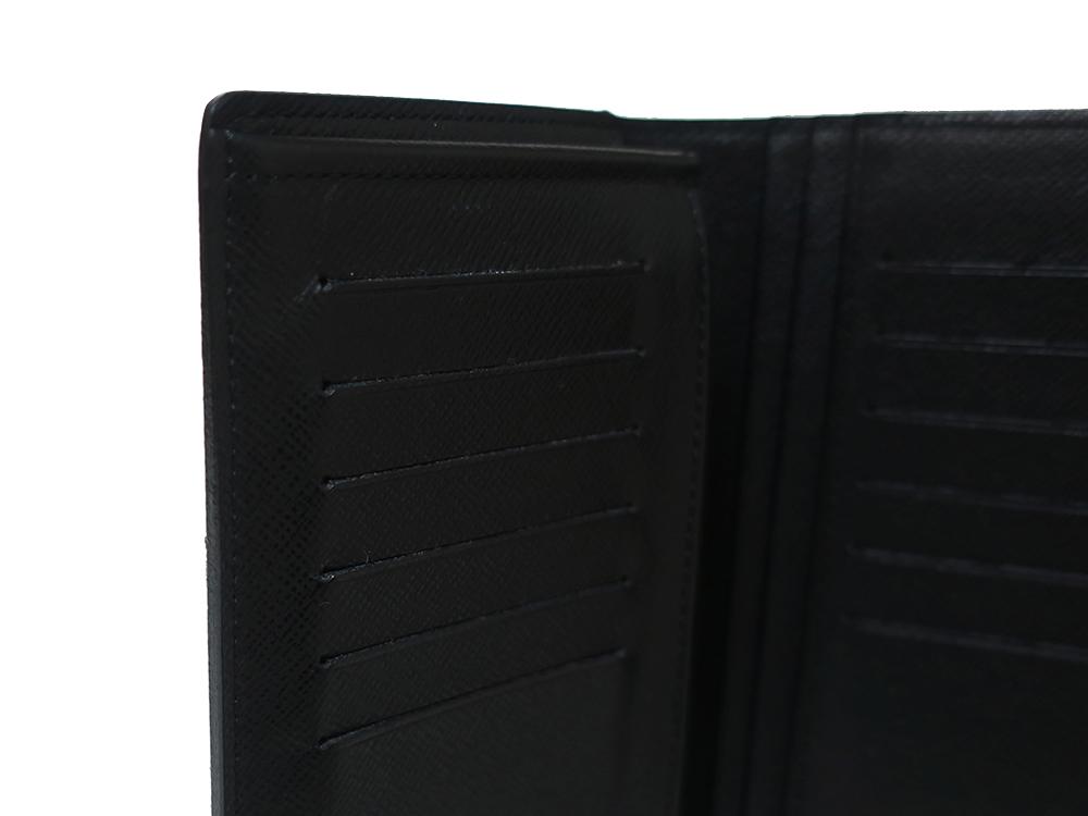 ルイヴィトン ダミエ グラフィット ポルトフォイユ・ブラザ 長財布 N62665 ABランク 内側ダメージ01