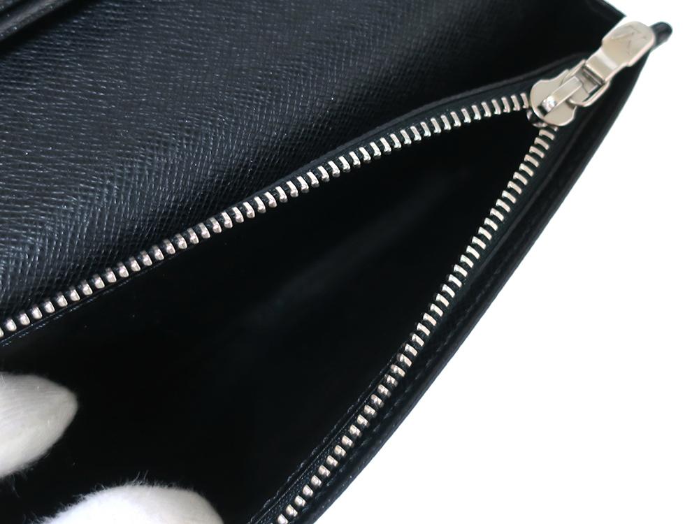 ルイヴィトン ダミエ グラフィット ポルトフォイユ・ブラザ 長財布 N62665 ABランク 内側ダメージ02