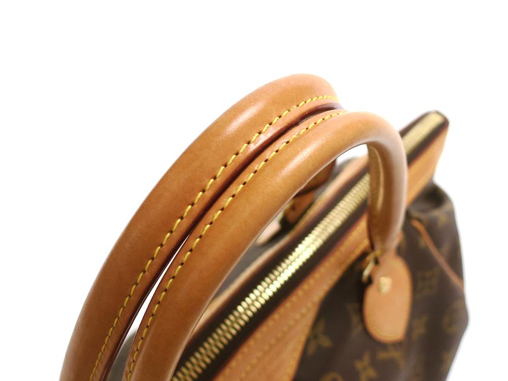 ルイヴィトン モノグラム ティヴォリPM M40143 Aランク 外側ダメージ01