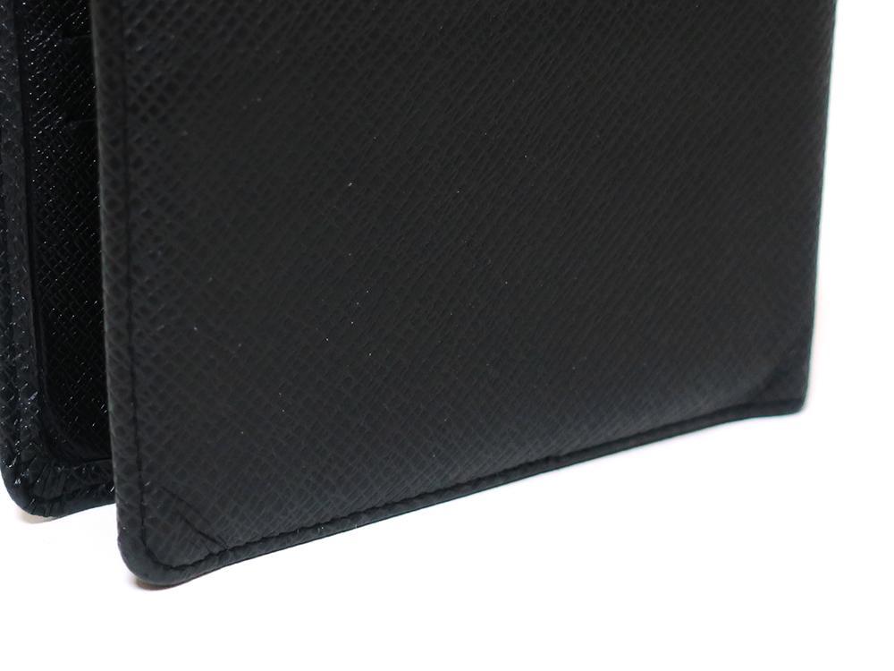 ルイヴィトン タイガ ポルトフォイユ・ミュルティプル 財布 M30952 外側ダメージ