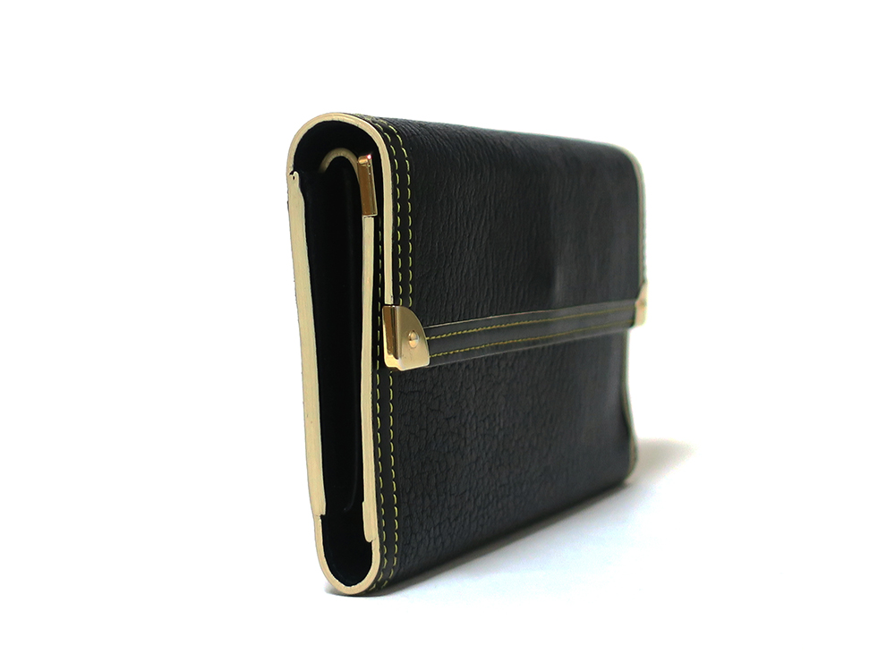 ルイヴィトン スハリ ポルトトレゾール・インターナショナル 長財布 M91836 側面