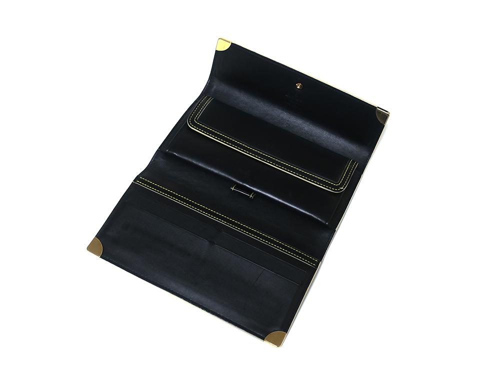 ルイヴィトン スハリ ポルトトレゾール・インターナショナル 長財布 M91836 上面開