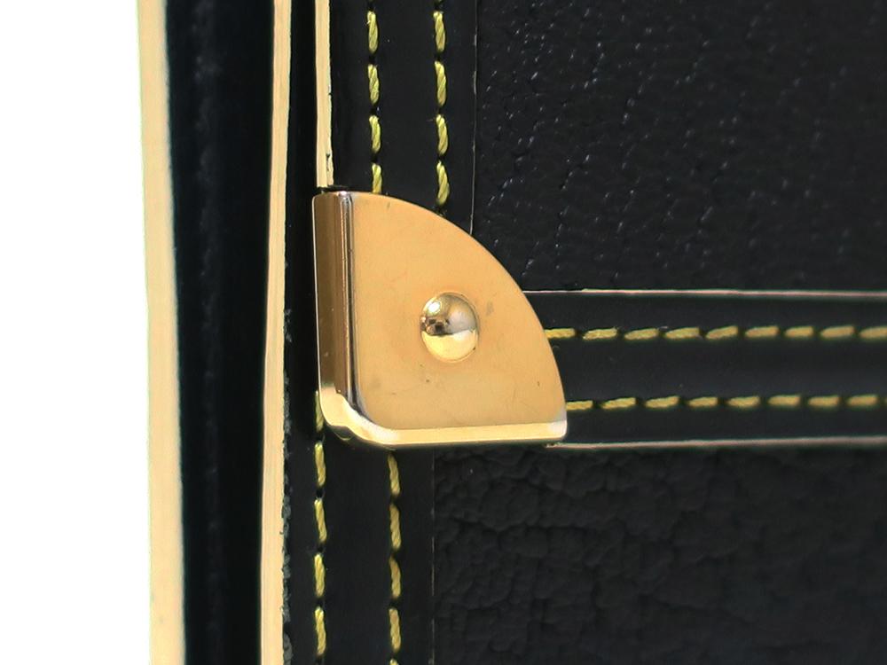 ルイヴィトン スハリ ポルトトレゾール・インターナショナル 長財布 M91836 外側ダメージ