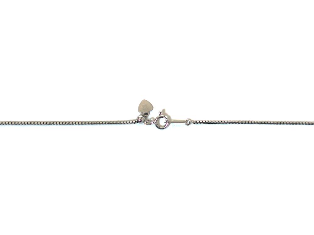 ジュエリー ホワイトゴールド ダイヤモンド クロスネックレス ダイヤ1.00ct 金具01