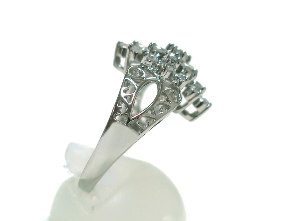 ジュエリー プラチナ ダイヤモンド リング ダイヤ1.03ct 側面03