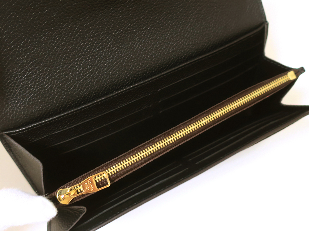 ルイヴィトン モノグラム ポルトフォイユ・ヴィーナス 長財布 M61835 カード入れ01