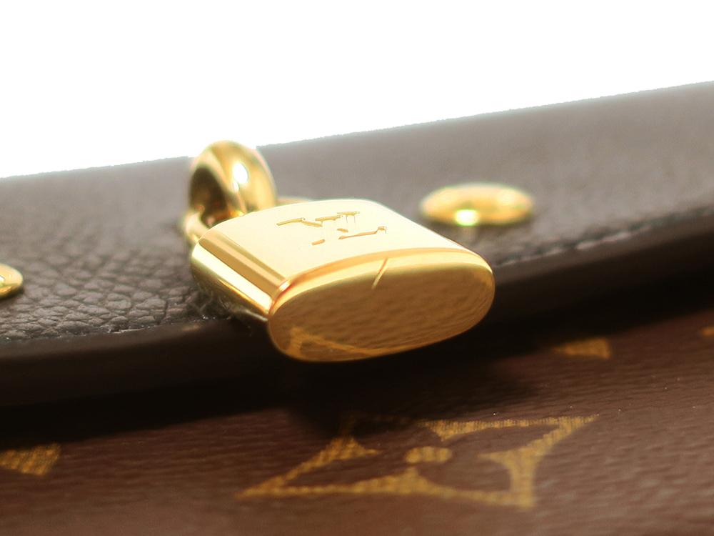 ルイヴィトン モノグラム ポルトフォイユ・ヴィーナス 長財布 M61835 外側ダメージ