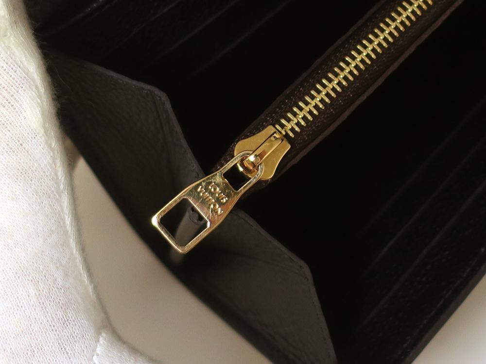 ルイヴィトン モノグラム ポルトフォイユ・ヴィーナス 長財布 M61835 内側ダメージ