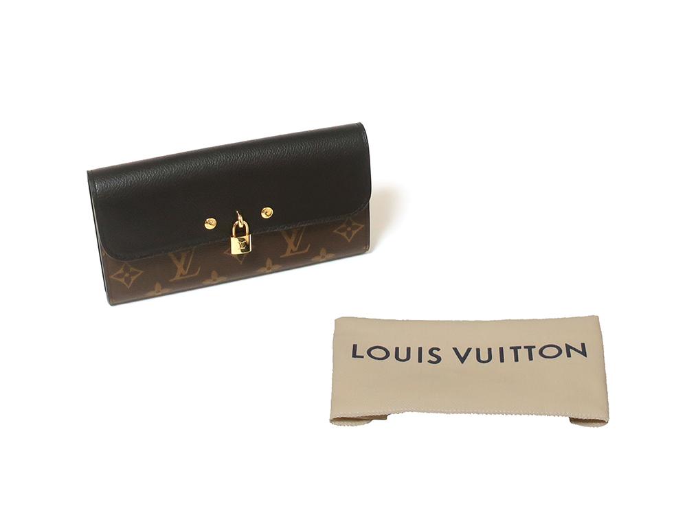 ルイヴィトン モノグラム ポルトフォイユ・ヴィーナス 長財布 M61835 付属品