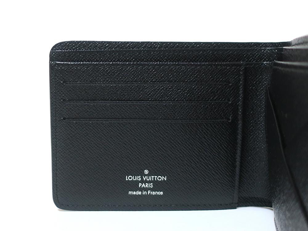 ルイヴィトン ダミエ・グラフィット ポルトフォイユ・ ミュルティプル 財布 N62663 カード入れ01