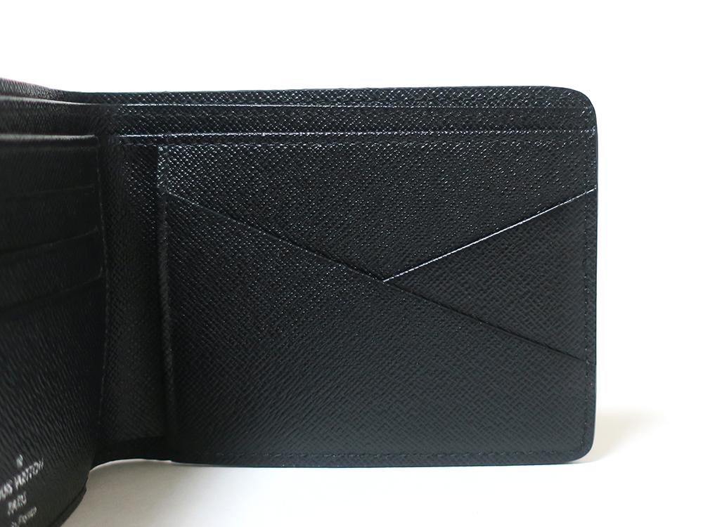 ルイヴィトン ダミエ・グラフィット ポルトフォイユ・ ミュルティプル 財布 N62663 カード入れ02