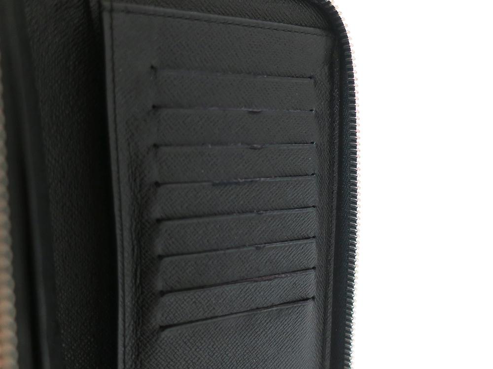 ルイヴィトン ダミエ グラフィット ジッピー・ウォレット・ヴェルティカル 長財布 N63095 Bランク 内側ダメージ02