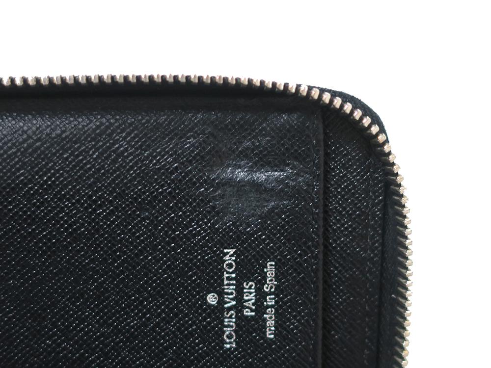 ルイヴィトン ダミエ グラフィット ジッピー・ウォレット・ヴェルティカル 長財布 N63095 Bランク 内側ダメージ03