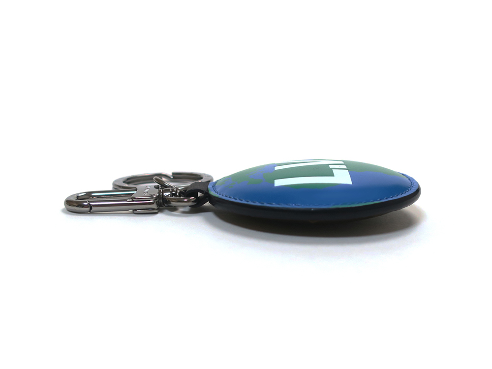 ルイヴィトン モノグラム ポルトクレ・パディッド モノグラム ロゴ リバーシブル バッグチャーム キーリング M68307 側面02