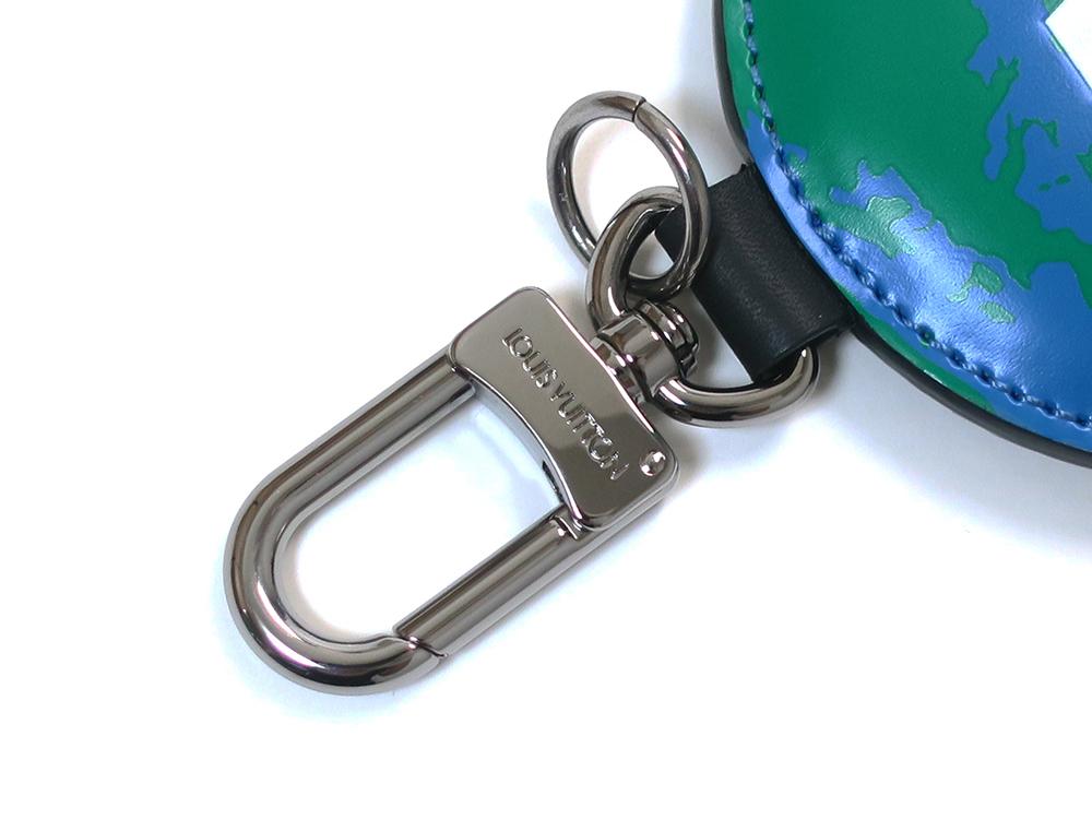 ルイヴィトン モノグラム ポルトクレ・パディッド モノグラム ロゴ リバーシブル バッグチャーム キーリング M68307 金具01