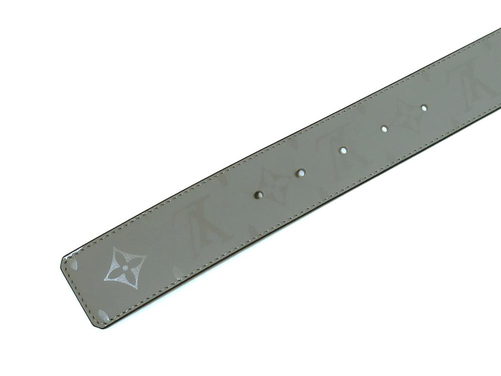 ルイヴィトン サンチュール LVピラミッド リバーシブル ベルト M0121U 特徴01