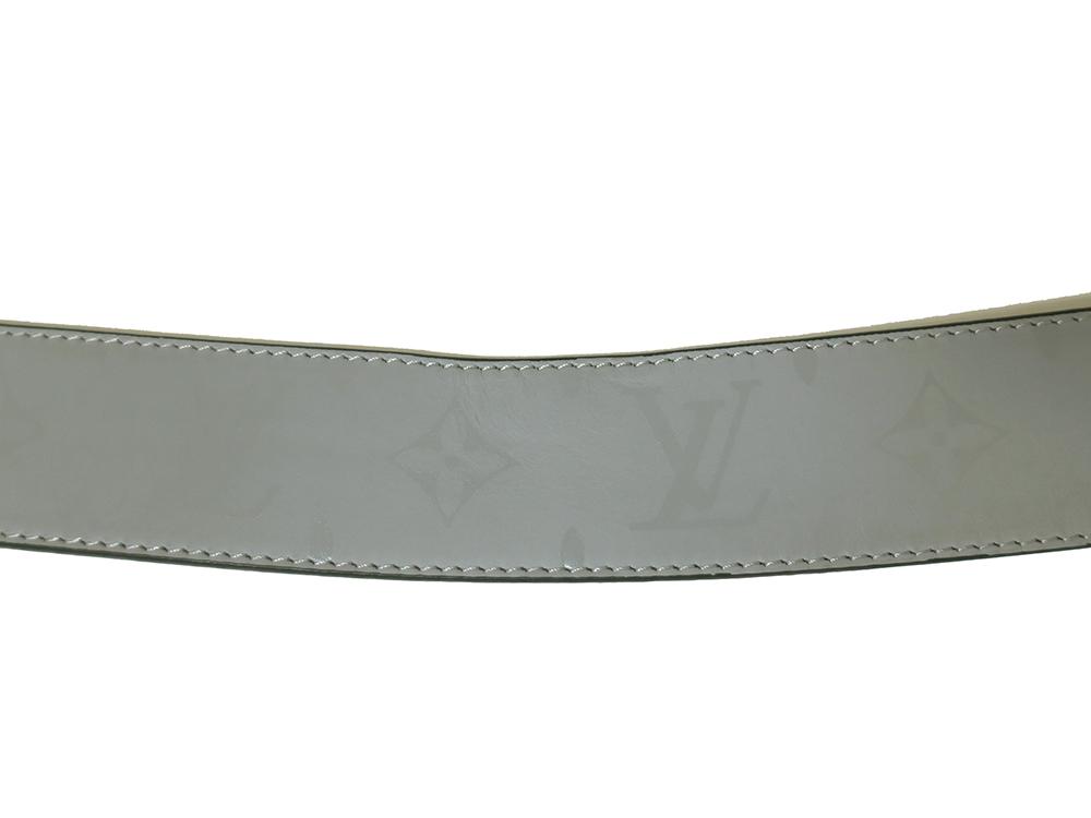 ルイヴィトン サンチュール LVピラミッド リバーシブル ベルト M0121U ダメージ02