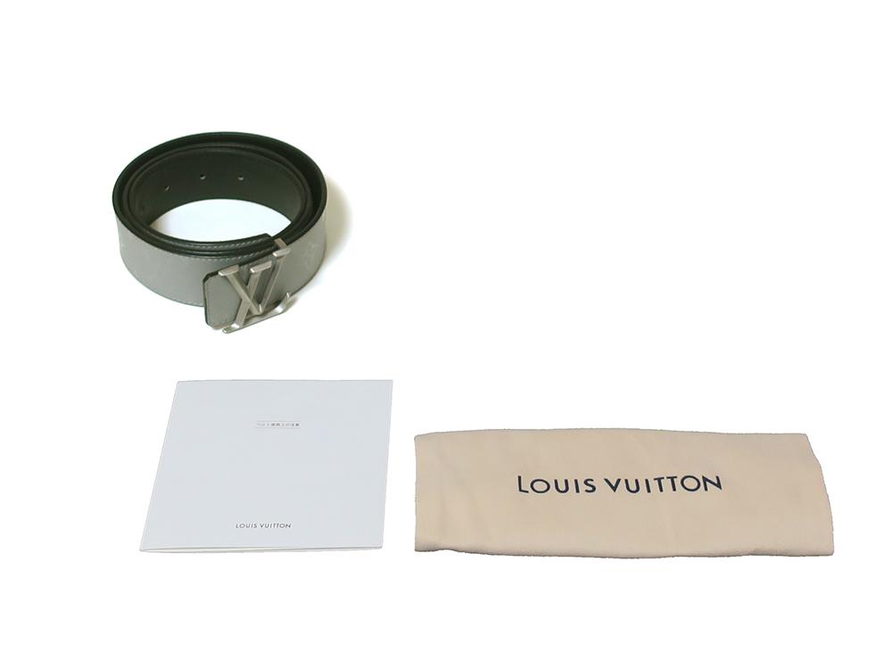 ルイヴィトン サンチュール LVピラミッド リバーシブル ベルト M0121U 付属品