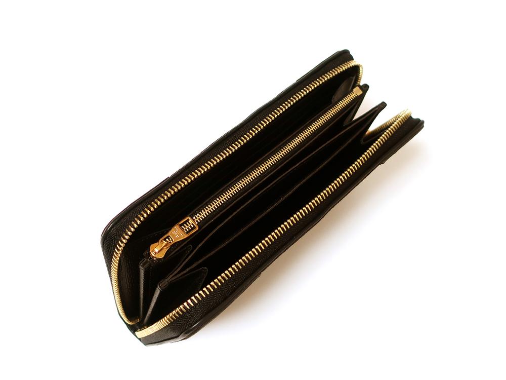 ルイヴィトン モノグラム ジッピー・ウォレット レティーロ 長財布 M61855 開口部開