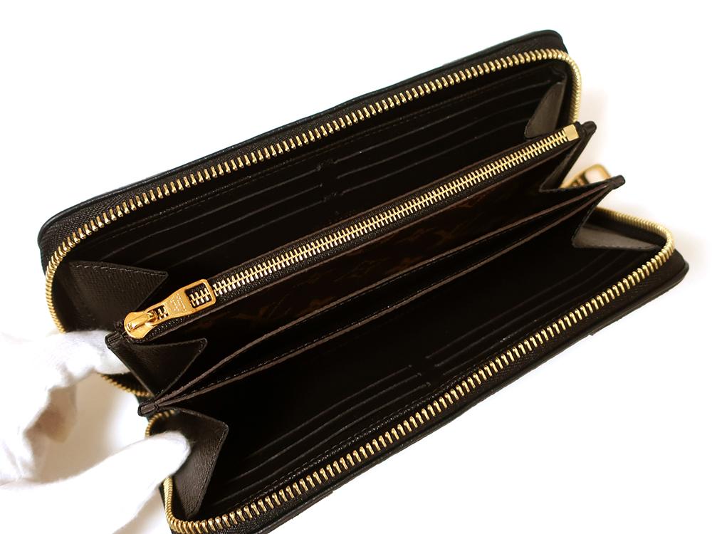 ルイヴィトン モノグラム ジッピー・ウォレット レティーロ 長財布 M61855 内面