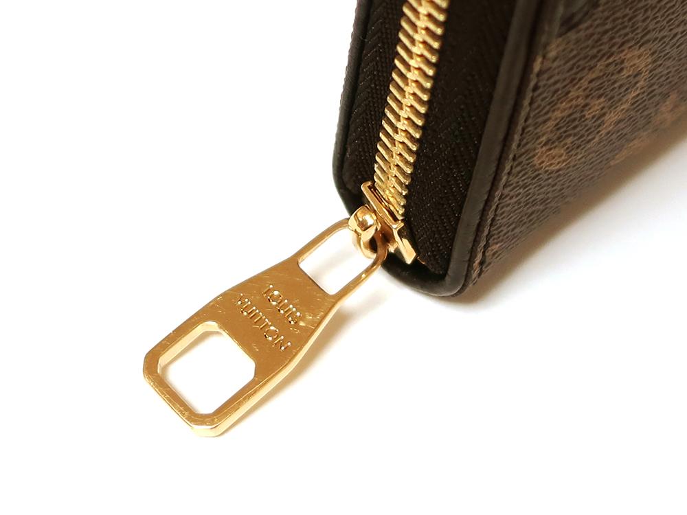 ルイヴィトン モノグラム ジッピー・ウォレット レティーロ 長財布 M61855 金具
