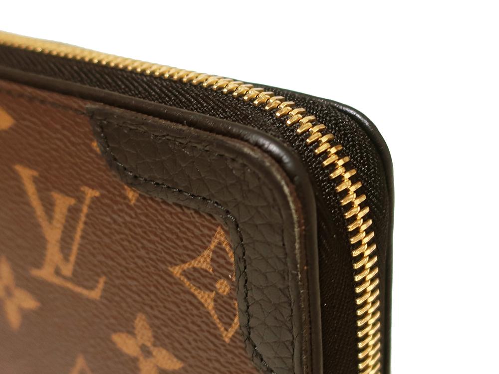 ルイヴィトン モノグラム ジッピー・ウォレット レティーロ 長財布 M61855 外側ダメージ01