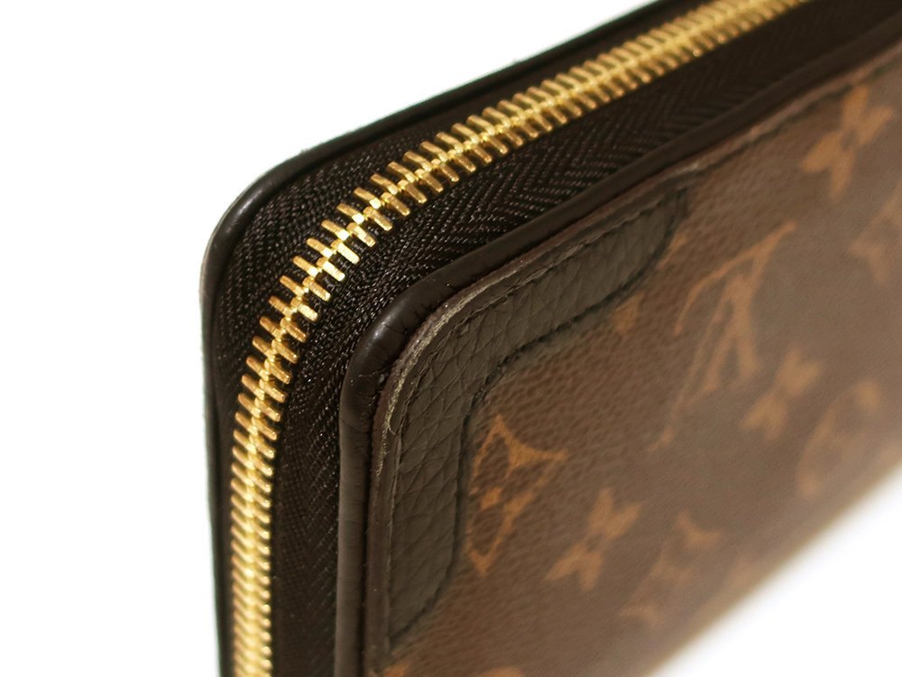 ルイヴィトン モノグラム ジッピー・ウォレット レティーロ 長財布 M61855 外側ダメージ02