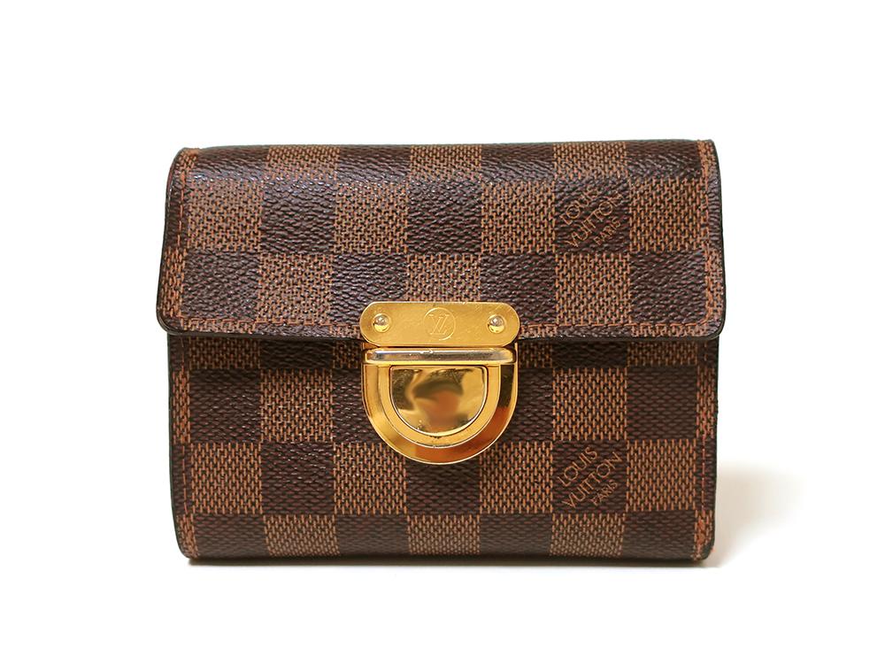 ルイヴィトン ダミエ エベヌ ポルトフォイユ・コアラ 財布 N60005 Bランク 正面