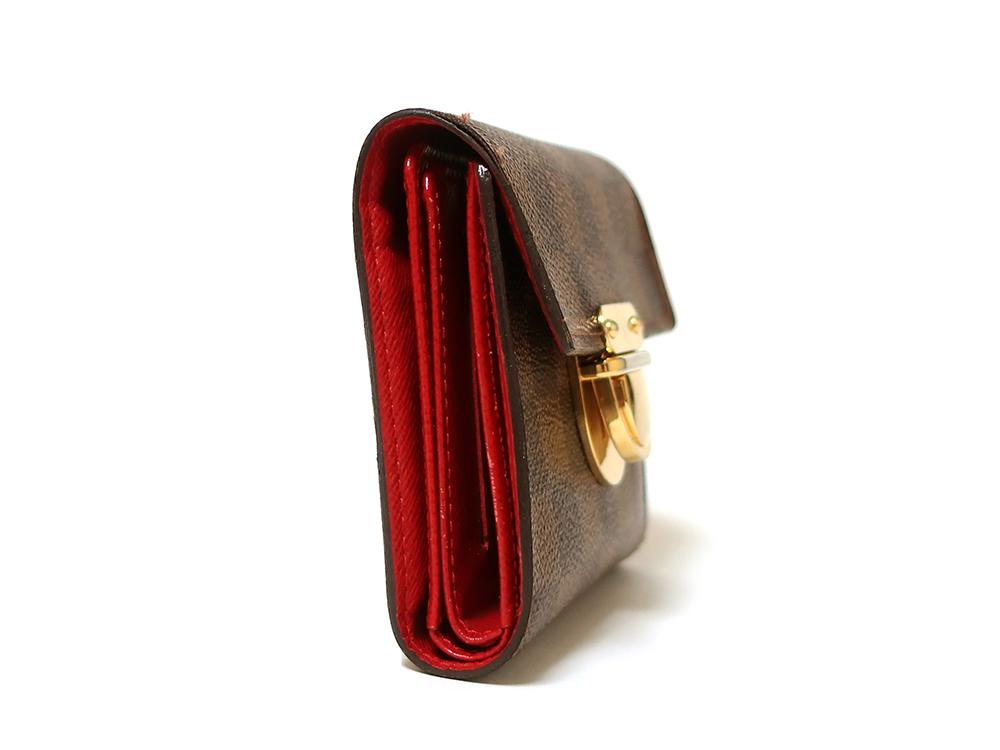 ルイヴィトン ダミエ エベヌ ポルトフォイユ・コアラ 財布 N60005 Bランク 側面