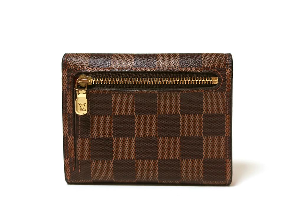 ルイヴィトン ダミエ エベヌ ポルトフォイユ・コアラ 財布 N60005 Bランク 背面