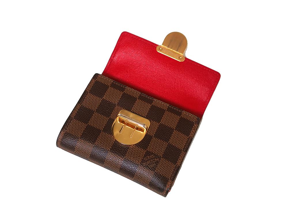 ルイヴィトン ダミエ エベヌ ポルトフォイユ・コアラ 財布 N60005 Bランク 上面開