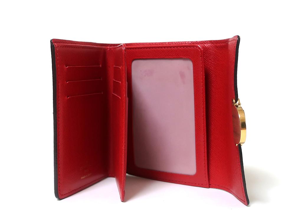 ルイヴィトン ダミエ エベヌ ポルトフォイユ・コアラ 財布 N60005 Bランク 内面01