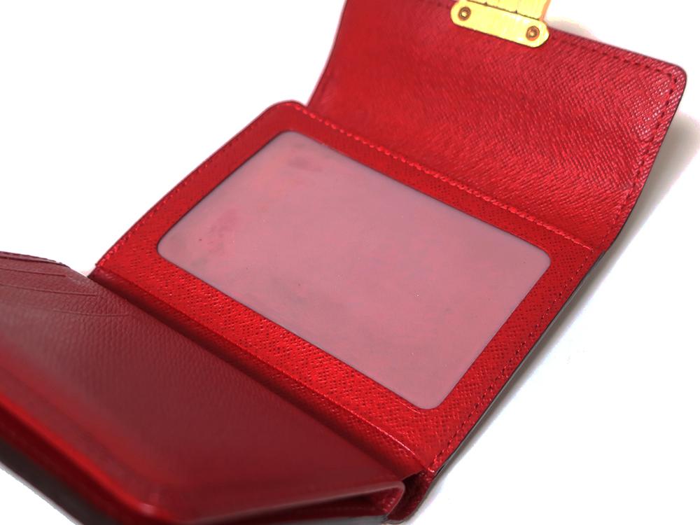 ルイヴィトン ダミエ エベヌ ポルトフォイユ・コアラ 財布 N60005 Bランク クリアポケット01