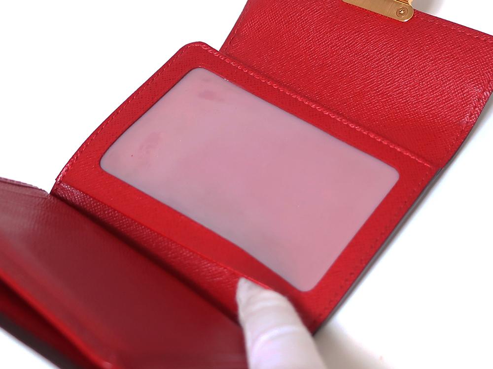ルイヴィトン ダミエ エベヌ ポルトフォイユ・コアラ 財布 N60005 Bランク クリアポケット02