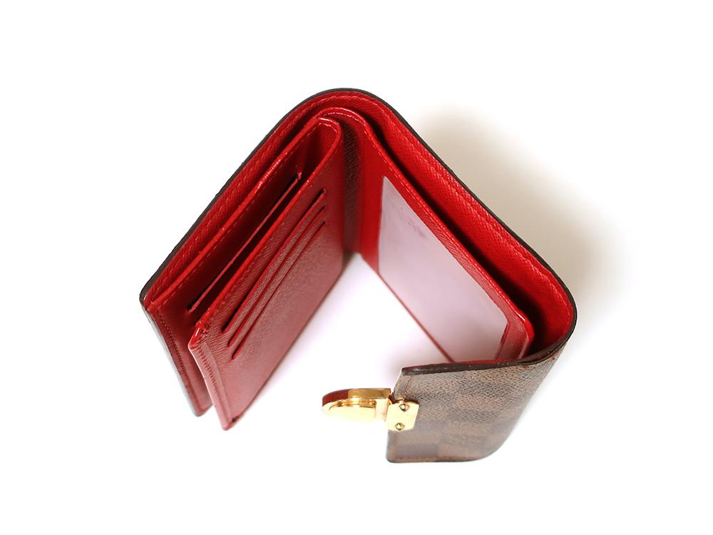 ルイヴィトン ダミエ エベヌ ポルトフォイユ・コアラ 財布 N60005 Bランク 札入れ01